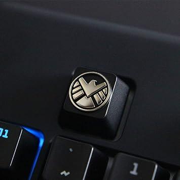 Mugen - Teclas Personalizadas para interruptores Cherry MX – se Adapta a la mayoría de teclados mecánicos de Juegos – con Extractor de Teclas
