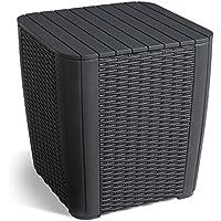 Keter Boîte de Rangement extérieur 568792,4cm Allibert Luçon–Noir/Graphite