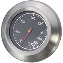Stainless Steel Thermometer Barbecue BBQ Smoker Grill Temperature Gauge 60-430