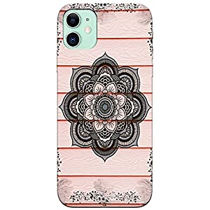 B2B Rangoli Design Printed Soft Silicon Designer Mobile Back Case Cover for Apple iPhone 11