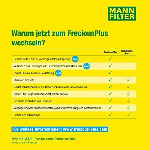 Mann Filter FP 8430 Original Habitáculo, FreciousPlus Filtro ...