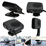 NPLE--2 in 1 Car Portable Ceramic Heating Cooling Heater Fan Defroster Demister DC 12V