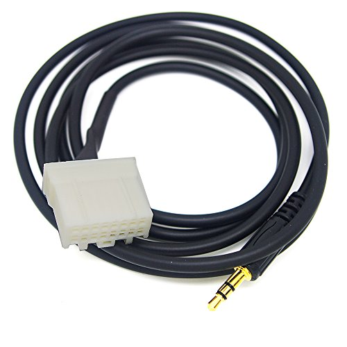 CBK New Car 3.5mm AUX Audio CD Interface Adapter Cable For Mazda 2 3 5 6 2006-2013