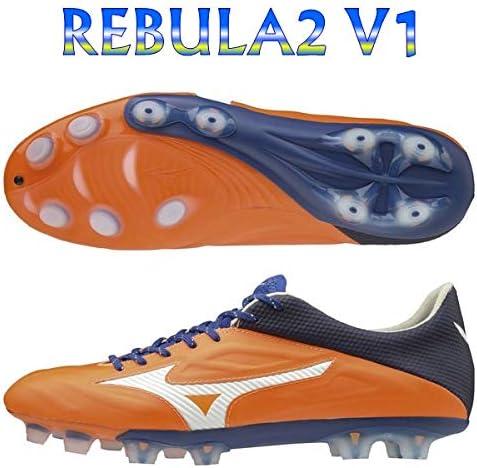 レビュラ 2 V1 オレンジ×ホワイト×ブルー モレステ限定モデル サッカースパイク P1GA197154
