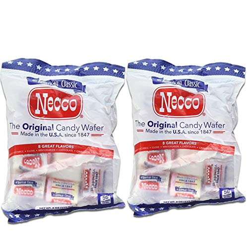 - Necco The Original Candy Wafer, Fat Free & Gluten Free, 4 oz (Pack of 2)