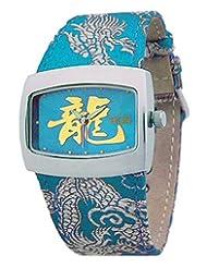 EOS New York Women's 43LTUR Orient Silk Strap Watch