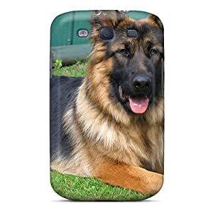 Galaxy S3 Hard Back With Bumper Silicone Gel Tpu Case Cover Mr Majestic Is His Name