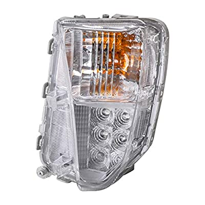 TYC 12-5286-00-1 Compatible with TOYOTA Prius Front Left Replacement Turn Signal Lamp: Automotive