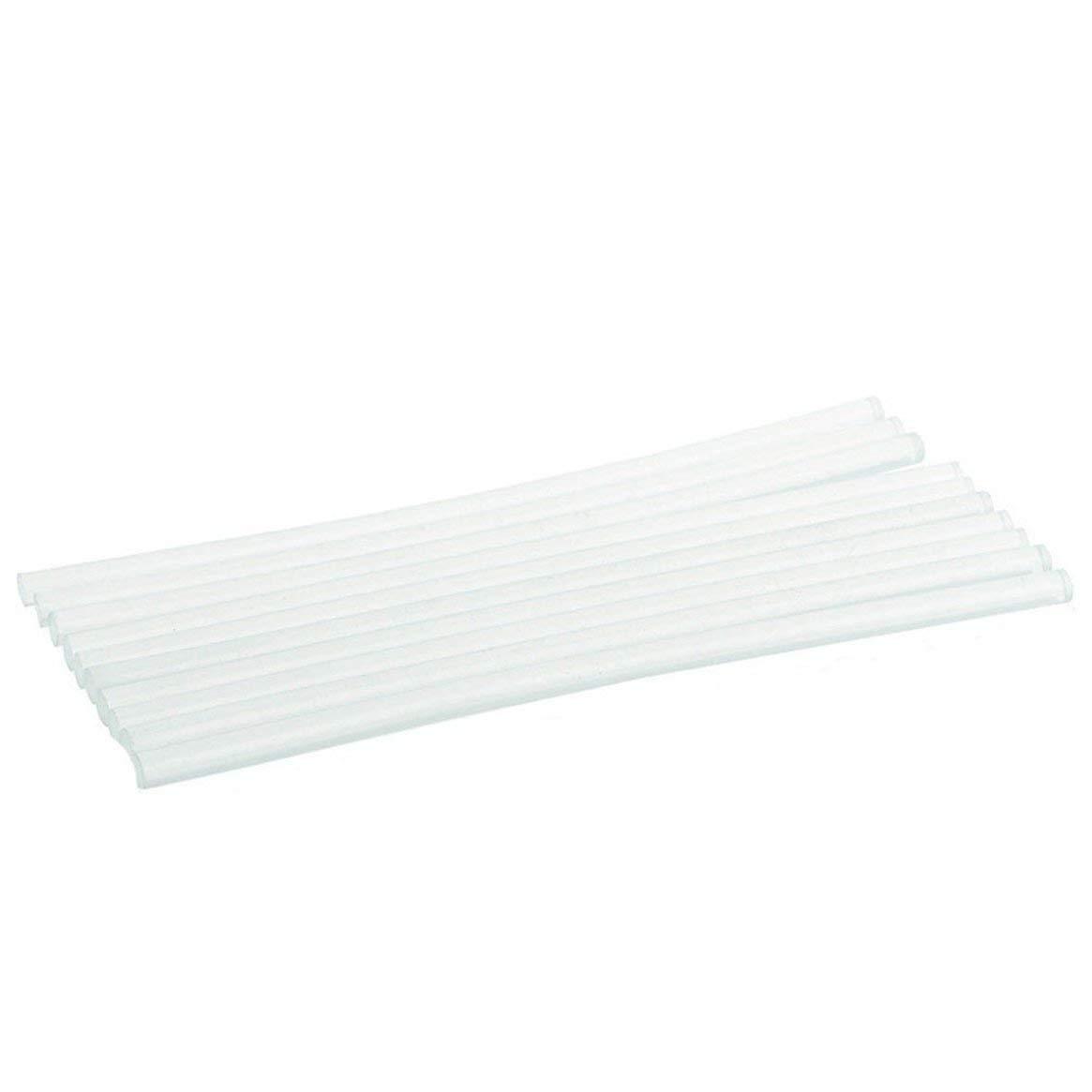 10PCS / SET bâtons de colle thermofusibles non toxiques pour l'artisanat électrique résistance au chauffage colle adhésive bâtons d'artisanat - transparent