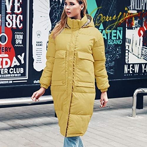 ANYODP Ropa de algodón de Moda más el tamaño Abrigo de Invierno ...