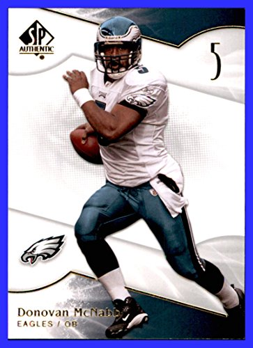 (2009 SP Authentic #9 Donovan McNabb PHILADELPHIA EAGLES SYRACUSE ORANGEMEN)