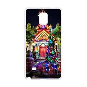 Samsung Galaxy Note 4 Cell Phone Case White Disney Toontown VIU107780