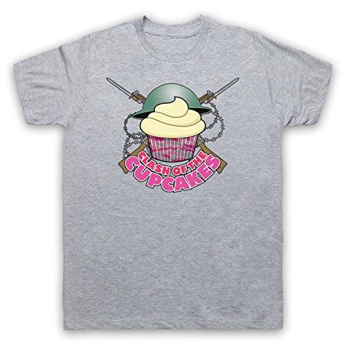 Master Of None Clash Of The Cupcakes Camiseta para Hombre Gris Claro