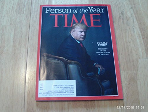 Time Magazine Person of the Year - President Donald Trump