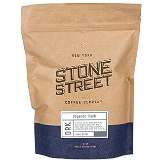 Stone Street Coffee Dark Roast Organic Whole Bean Coffee, 1 lb. Bag