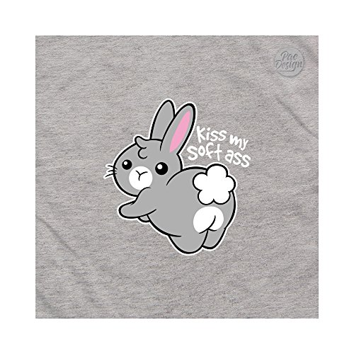 Sweeties Sweeties Sweeties Nemimakeit Felpa Lightgrey Cute Animal Ass PacDesign PacDesign PacDesign PacDesign Donna Funny Soft Nm0014a Bunny AxSRYZq