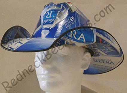 Image Unavailable. Image not available for. Color  Beer Box Cowboy Hat Made  From Recycled ... 8b977448e929