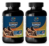 Menopause energy - WOMEN'S SUPPORT COMPLEX ADVANCED FORMULA - healthy woman healthy life - 2 Bottles (120 Capsules)