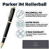 Parker Pen | Personalized Parker IM Black Gold Trim