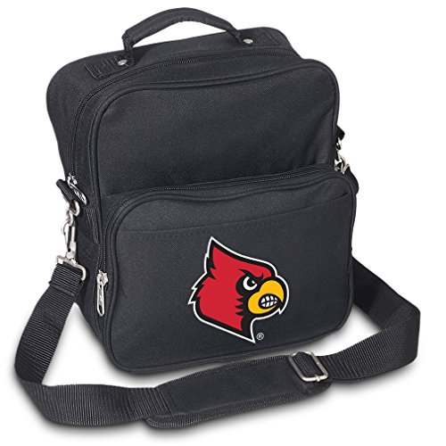 University of Louisville Travel Bag or Small Crossbody Day Pack Shoulder Bag by Broad Bay