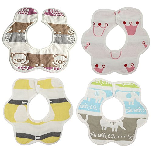 Design Your Own Mask Online (Baby Bandana Drool Bibs - 4 Pack Gift Set for Boy and Girl Drooling and Teething Bibs, 100% Organic Cotton, Hypoallergenic, Soft and Absorbent Keeps Baby Dry, Cute & Stylish (P2))