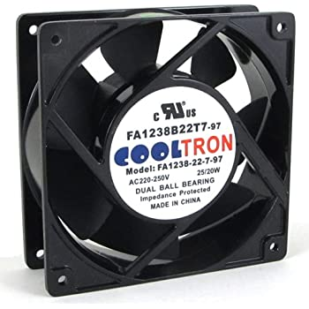 Amazon Com 230v Ac Cooling Fan 120mm X 25mm Hs Home