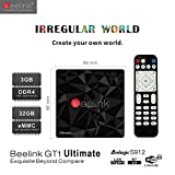 Beelink-GT1-Ultimate-TV-Box-with-Android-60-Amlogic-S912-Octa-Core-ARM-Cortex-A53-CPU-up-to-2GHzDVFS-DDR4-3GB-Onboard-eMMC-Flash-32GB-1000Mbps-LAN-IEEE-80211abgnac-24G58G-BT-40