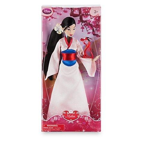 Disney Store Mulan Classic Doll with Mushu Figure - 12