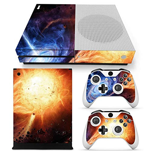 Star Vinyl Skin Sticker Protector for Xbox One SLIM and 2 controller skins Stickers for XBOXONE S,4 ()