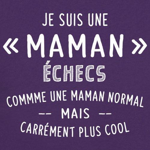 une maman normal échecs - Femme T-Shirt - Violet - S