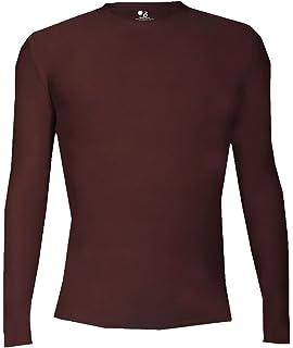 afad9d4c Amazon.com: Badger boys Short-Sleeve Compression Tee (2621): Clothing