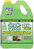 Oxy Solve House and Siding Pressure Washer Cleaner - Removes Stains from Mold & Mildew on Vinyl, Aluminum, Wood, Brick…