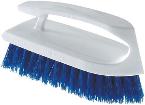 Pack de 12 Gran pl/ástico Scrub-Brush con dispensador Plata