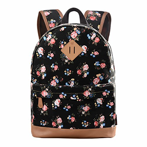Douguyan Casual Lightweight Print Backpack for Girls and Wom