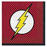 Justice League The Flash Design Luncheon Napkin-16pc