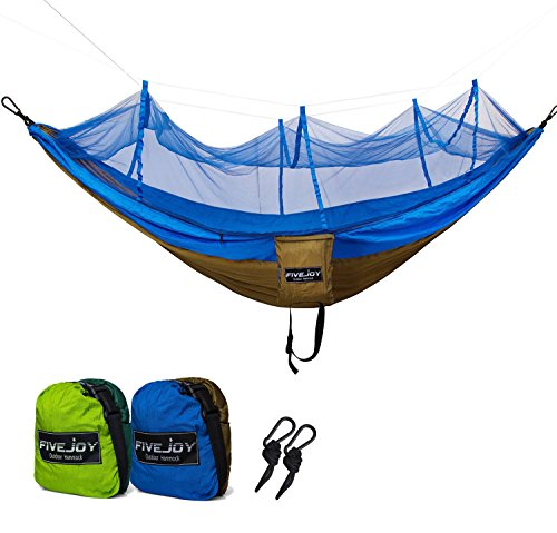 fivejoy-ultralight-parachute-camping-hammock-with-mosquito-net-supports-400lbs-portable-heavy-duty-p