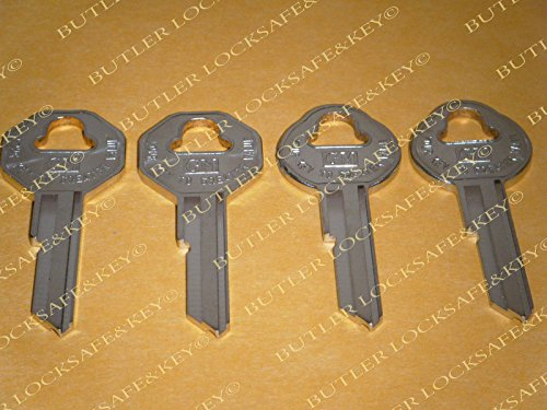 Nova Key - Chevy NOVA Key Blanks 1963 1964 1965 1966 4 OEM GM Logo Keys