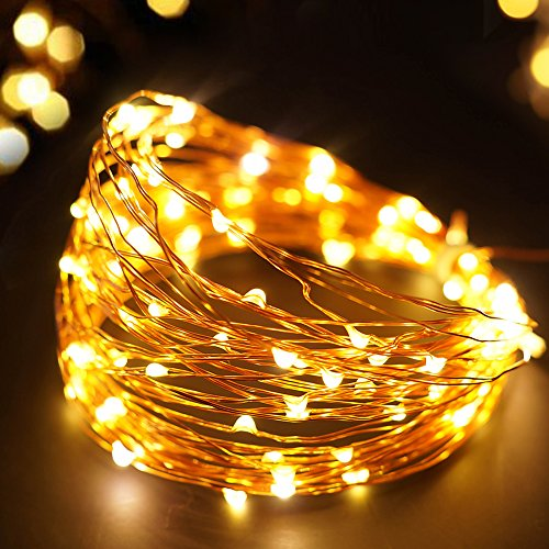BRIGHT-ZEAL-33-Long-LED-Battery-STRING-LIGHTS-TIMER-BATTERY-Operated-Included-100-LEDs-LED-Starry-STRING-LIGHTS-Fairy-Lights-LED-Battery-String-Lights-Wedding-Decorations-501