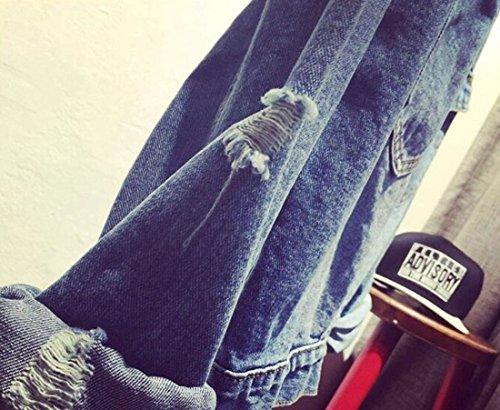 Emilyle De Moda Mujer Letras Kpop Mezclilla Bts Hip Top Boys Bangtan Adolescente Unisex Para Fans Blanco 92 Impresión Sudadera Jin Pop rwaYr