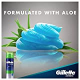 Gillette Series 3X Shave Gel Sensitive 7 Ounce