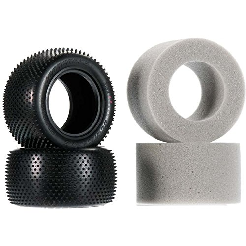 J Concepts 3163010 Pin Down Tires, Pink Compound, for 2Truck ()