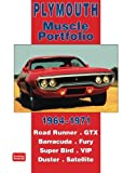 Plymouth 1964-1971: Muscle Portfolio
