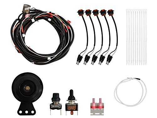 SuperATV Polaris RZR 800 / 800 S / 1000 XP / 1000 S / 900 / 900 S / 570 / Turbo 1000 Turn Signal Kit (with Toggle Turn Switch) - Plug and Play for Easy Installation! (Turbo Kit 800)
