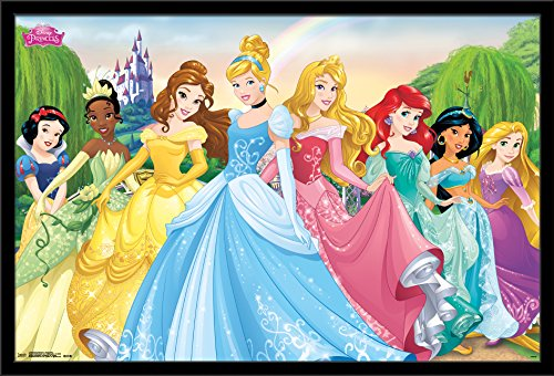 Trends International Disney Princess - Group 2015 Wall Poster, 24.25