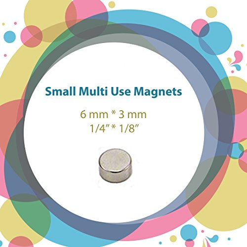 Set of 30 multi use craft refrigerator magnets for Small round magnets crafts