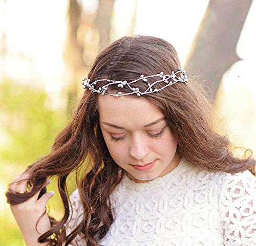 Twig And Berries Costume (Silver Bridal Twig Crown)