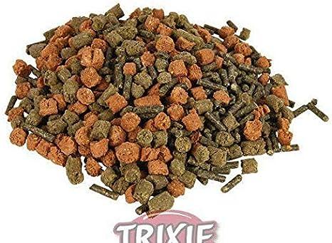 Granulada Pellets de Alimento Para Tortugas Terrestres 600g / 1000ml, Trixie, Alimentación Y Apoyo contra el Sida, Terraristic