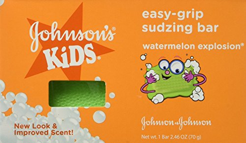 - Johnson's Easy Grip Buddies Sudzing Bar, 3 Count