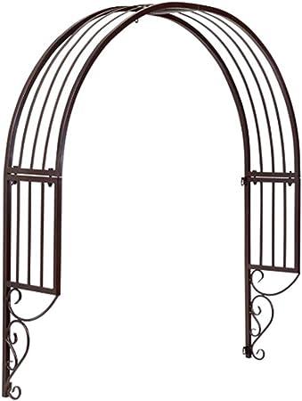 Arcos metálicos de jardín para Plantas trepadoras, Cortinas para Ventanas/Marcos trepadores para Puertas, Colores Cobre Negro y Rojo: Amazon.es: Hogar