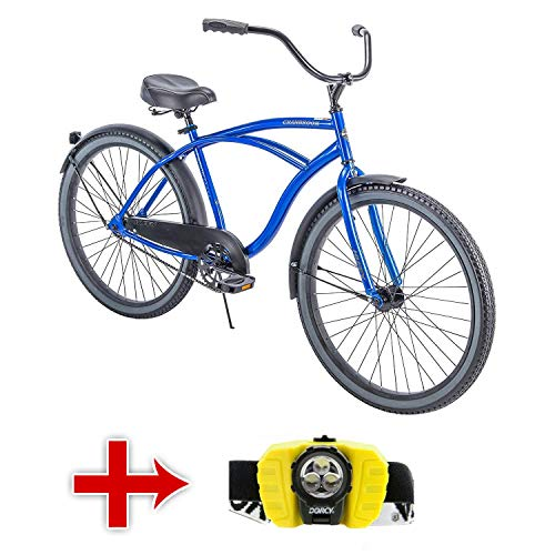 Huffy 26' Men's Cranbrook Cruiser Bike with Freebie (Red)